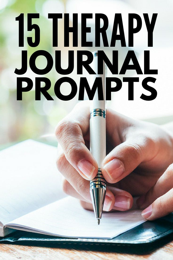 Journaling for Mental Health | Lots of great ideas to teach you how to start journaling for anxiety, depression, and other mental health challenges as well as for therapy and general self-care. Find out how to get started writing today, keep your thoughts and creativity flowing on the daily, and check out 15 of our favorite therapy journal prompts! #journal #journaling #journalprompts #writingprompts #anxiety #depression #mentalhealth
