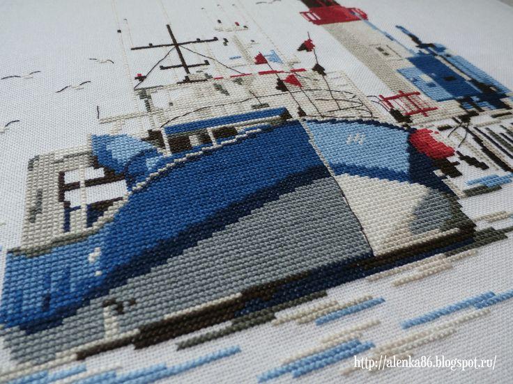 «Au port de la Cotiniere» Isabelle Vautier