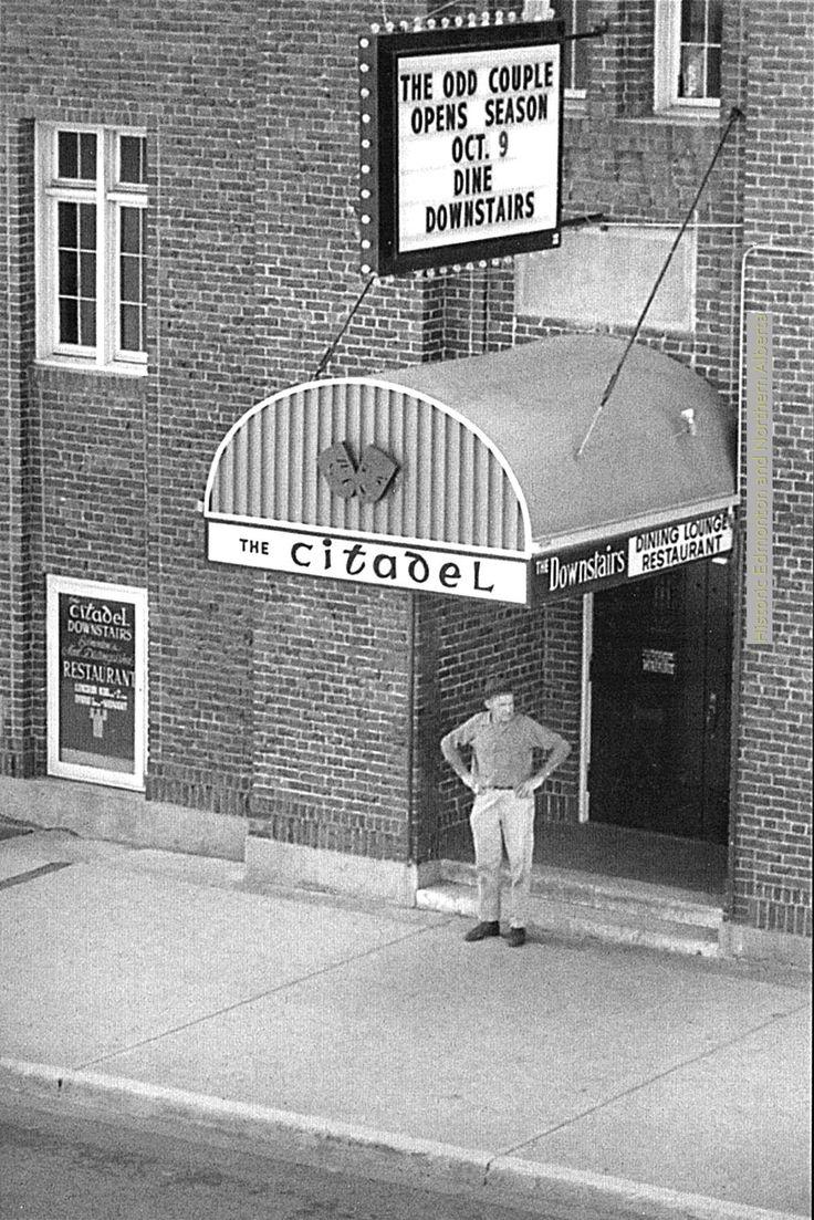 The Citadel in Edmonton, 1960s. Now the Starlight Room.