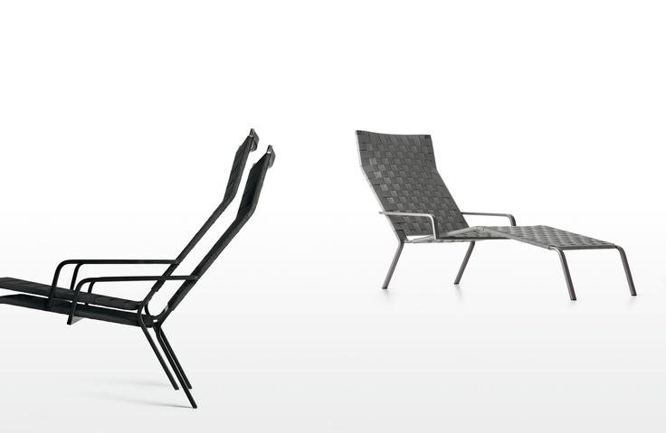 Rest chaise longue by Harry & Camilla - Kristalia #rest #chaiselongue #harryecamila