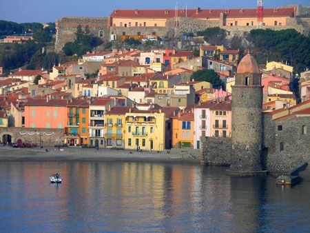 Collioure, France. We visited this lovely seaside town while staying in Northern Spain.