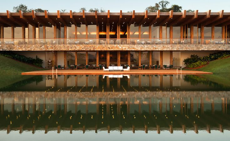 Isay Weinfeld's supremely stunning new Fasano Boa Vista hotel is built in the middle of native forest of São Paulo.