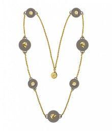 Ops! Objects náhrdelník Trésor šedý - 1118 Kč