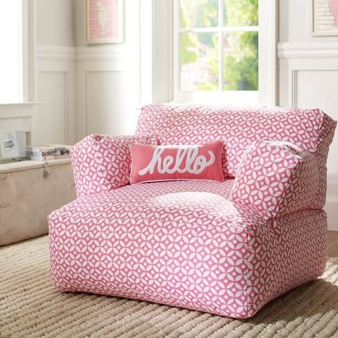 Geo Dot Pink Eco Lounger