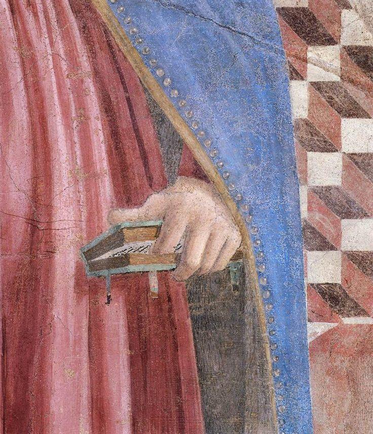 Piero della Francesca, 10. Annunciation (detail) 1452-66 Fresco, 329 x 193 cm San Francesco, Arezzo