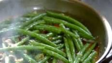 Sauteed Green Beans with Soy, Shallots, Ginger, Garlic and Chile Recipe | Tyler Florence | Food Network