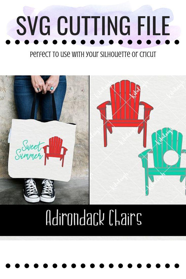 Adirondack Chair Monogram SVG | *Group Board Fun SVG Designs