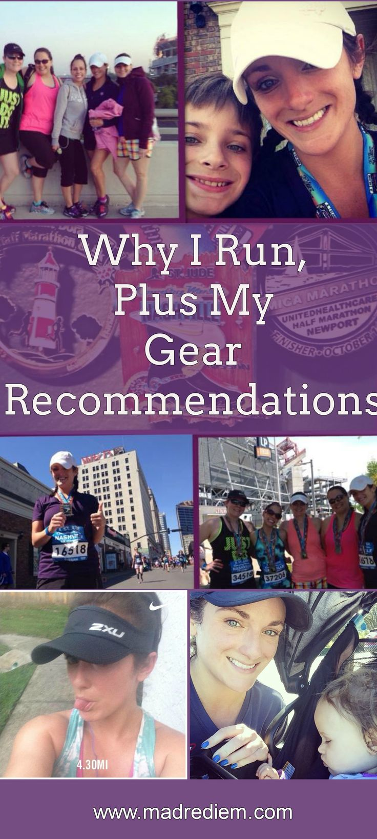 Why I Run, Plus My Gear Recommendations - just some of the reasons I force myself to run even when I'm not feeling it that day, along with my favorite gear.
