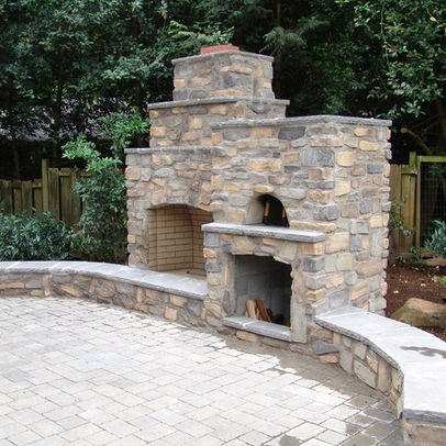 17 Best Images About Outdoor Fireplace On Pinterest Fireplaces Outdoor Fireplace Kits And Ovens