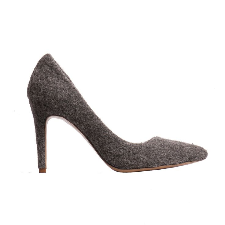 Wool stiletto