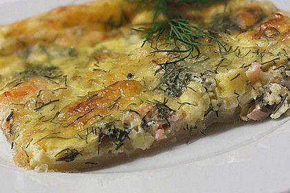 Schwedischer Lachskuchen  'Schwedenpizza' 1