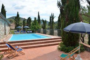 Ferienhaus in der Toskana für 8 bis 9 Personen mit Pool