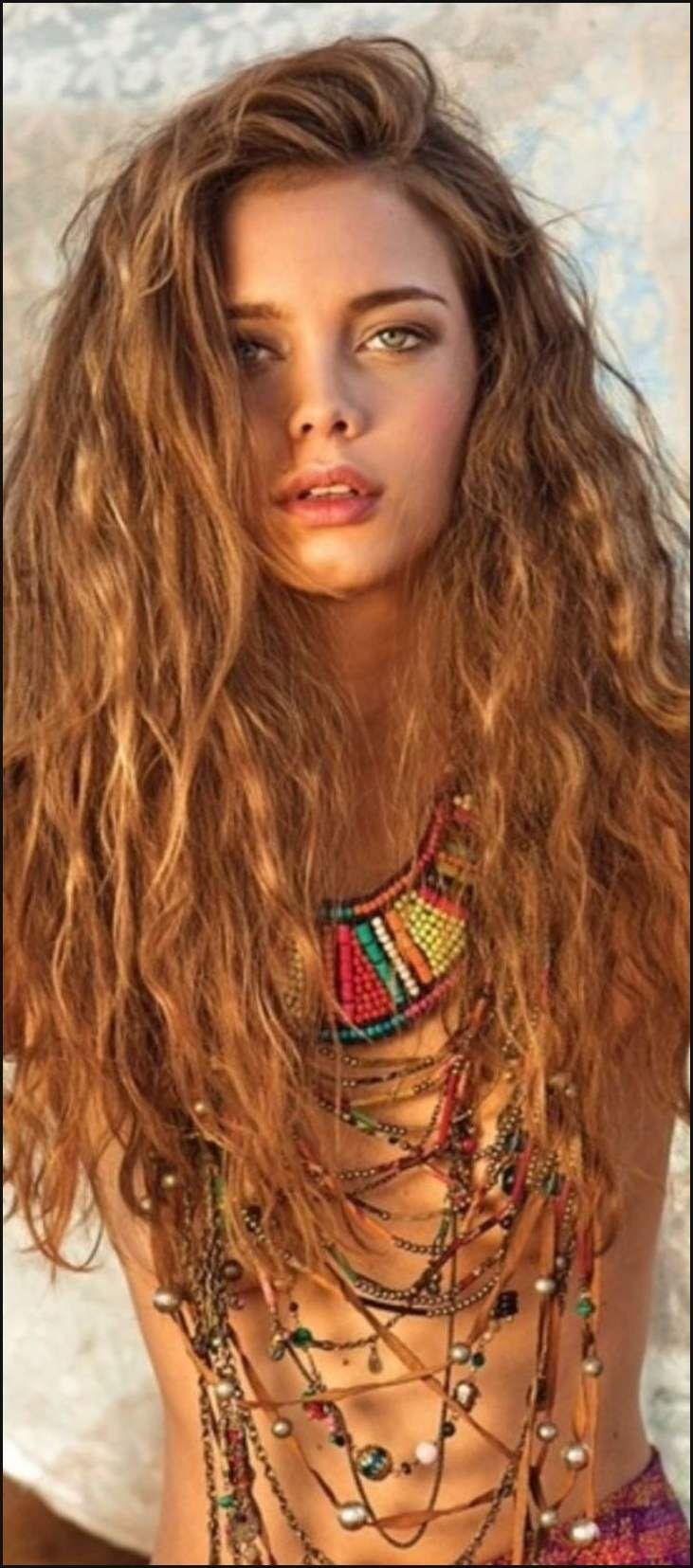 As 25 melhores ideias de Hippie hairdos no Pinterest | Casamento ... | Einfache Frisuren