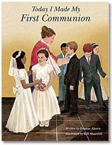 TODAY I MADE MY FIRST COMMUNION - wonderful 3-in-1 teaching & keepsake book.