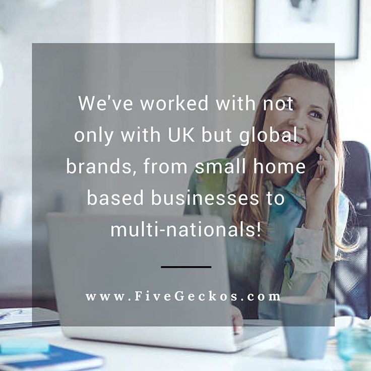 We've worked with not only with UK but global brands from small home-based #businesses to multi-nationals!  More about #FiveGeckos ==> http://ift.tt/2rydREf ______________________________________________________ #Online #Marketing #OnlineMarketing #Digital #BusinessGrowth #BusinessTips #Entrepreneurship #SEO #SMM #FiveGeckos #onlinemarketing #Hertfordshire #BusinessTips #digital #agency #consultant #support #supportlocal #sme #smb #startup #startups #Local #Broxbourne #Cheshunt…