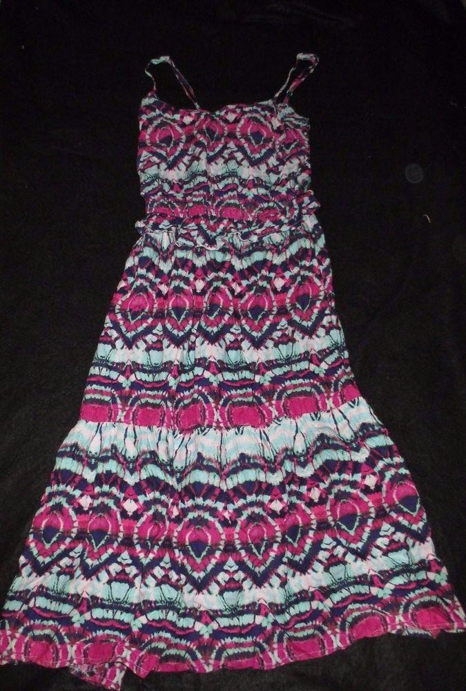 Girls Mossimo Supply Company Tie Dye Summer Sundress XS #Mossimo #Sundress #Everyday