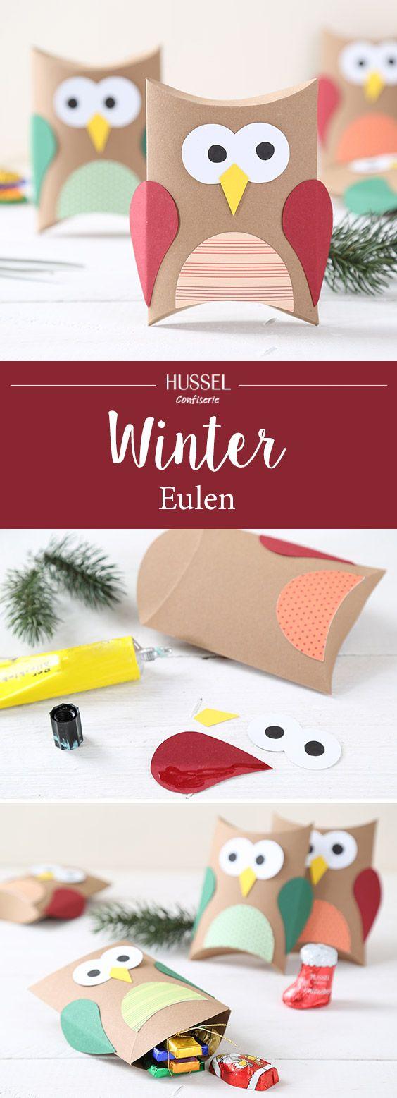 Winter Eulen - Hussel Confiserie
