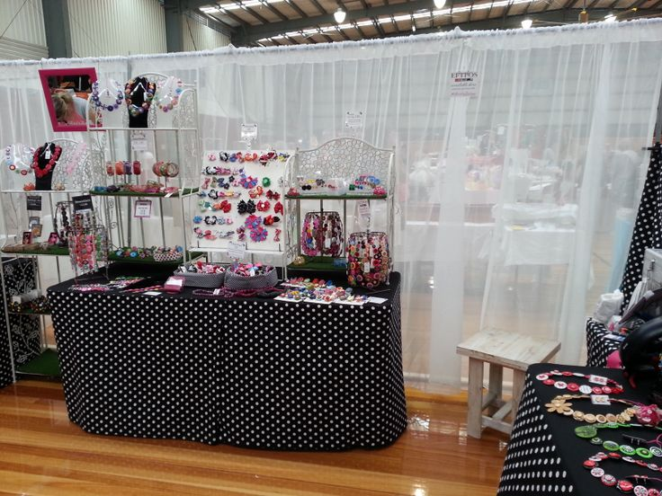 Addicted to Buttons at The Handmade Expo - Morayfield - 2014