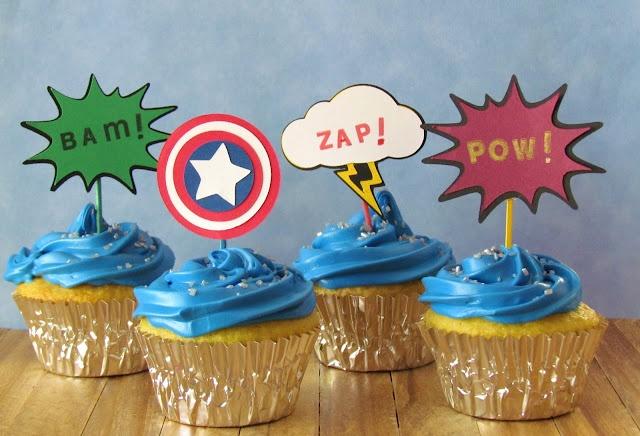 Super hero party idea.