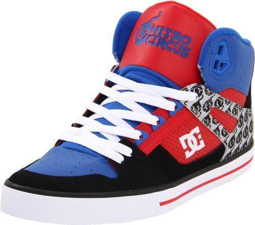 DC Mens Spartan Hi WC NC LaceUp Skate Shoe DC 5990