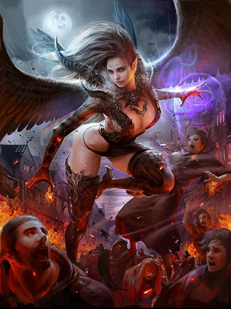 383 Best Deamons, Succubuses And Other Hell Spawn Images