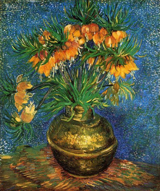 ART & ARTISTS: Vincent van Gogh - Flowers part 1
