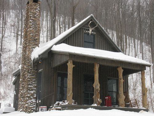 Best images about Country House on Pinterest   James hardie, Dark wood ...