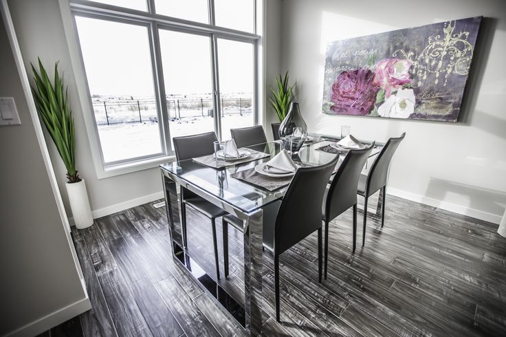 Wonderful sun filled dining space!