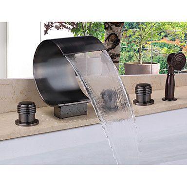die besten 17 ideen zu badewanne mit dusche auf pinterest. Black Bedroom Furniture Sets. Home Design Ideas
