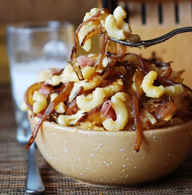 Mac and Cheese with Bacon and Caramelized Onions by Julia's Album   Shine Food - Yahoo Shine