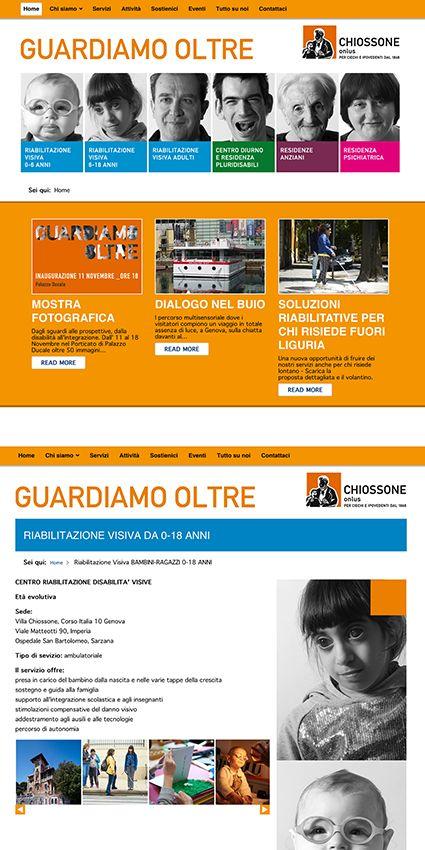 Web Site - Istituto Chiossone Onlus
