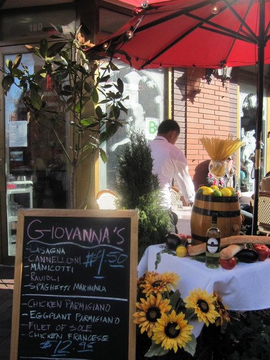 Italian Cafe New York