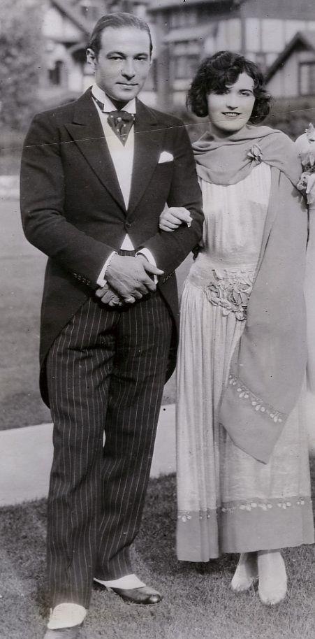 Rodolfo Valentino e Pola Negri