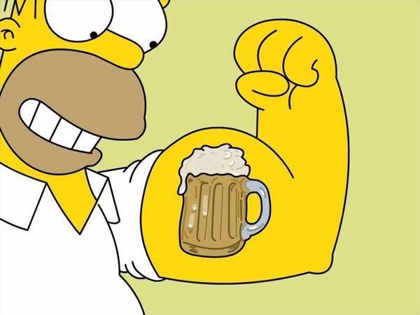 Cerveja me dá força! | Este e outros 20 memes de cerveja só no Brejas