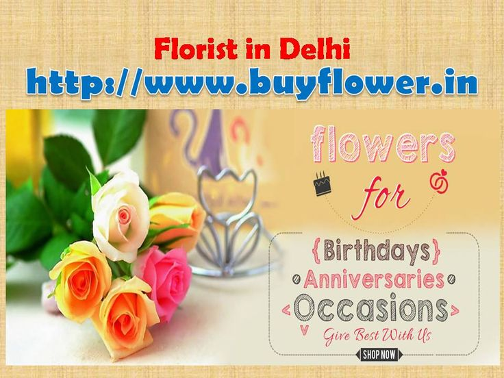 If You want to send flowers to Delhi by Delhi online florist then our website helps you Delhi Flowers Delivery. We are the best service provider in World. We are the best Florist in Delhi. http://www.buyflower.in/