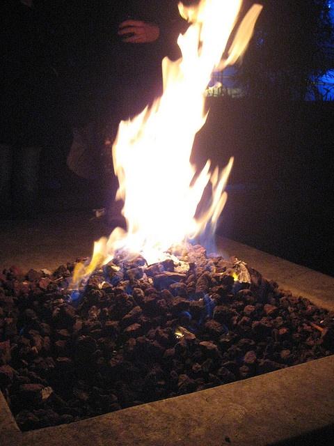 fire pit @ Doug Fir by kid brody, via Flickr