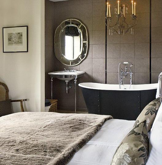 Modern Art Nouveau In The Bedroom