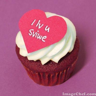ImageChef - Cupcake Heart