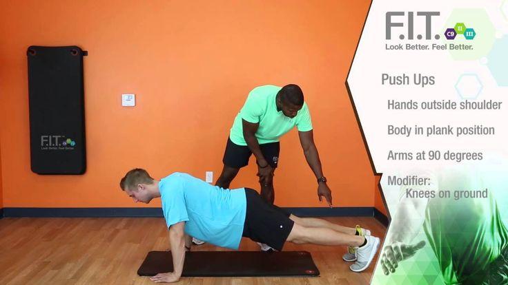 F.I.T. Exercises - Push Ups  http://myforeverfit.flp.com