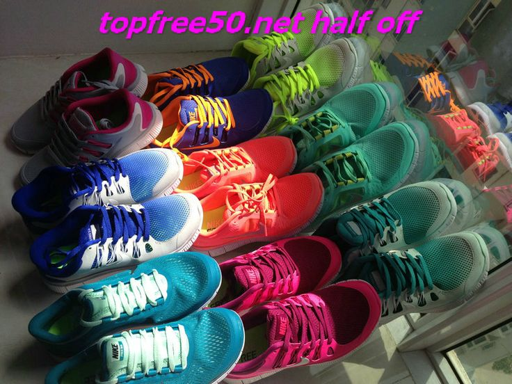 site full of nikes 50% off!! for people who burn through shoes ......or who just want them in every color!      #Fashion Gril's #Sneakers 2014 Summers