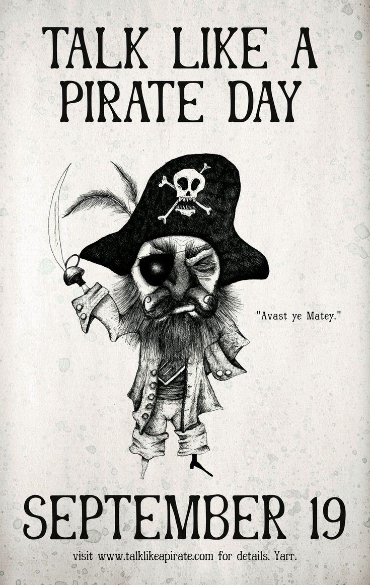 Talk like pirate day deals