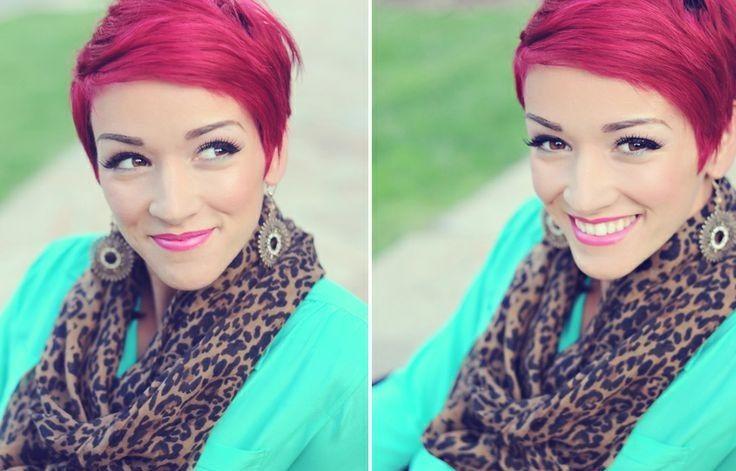 Vurige rode kapsels voor trendy vrouwen