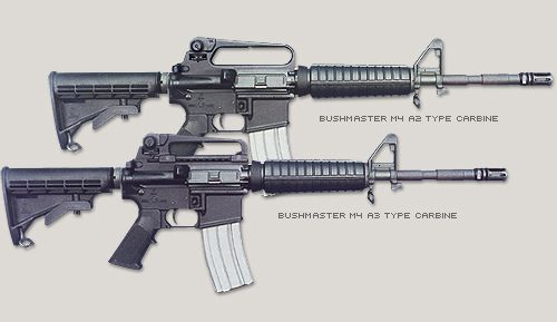 Bushmaster M4 A2/A3 Type Carbines