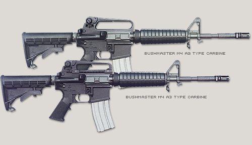Bushmaster M4 A2/A3 Type Carbines