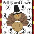 Celebrate Thanksgiving with this cute  independent center.   Students roll 1,2 or 3 dice, add the numbers, and cover up the sum. First to cover all...