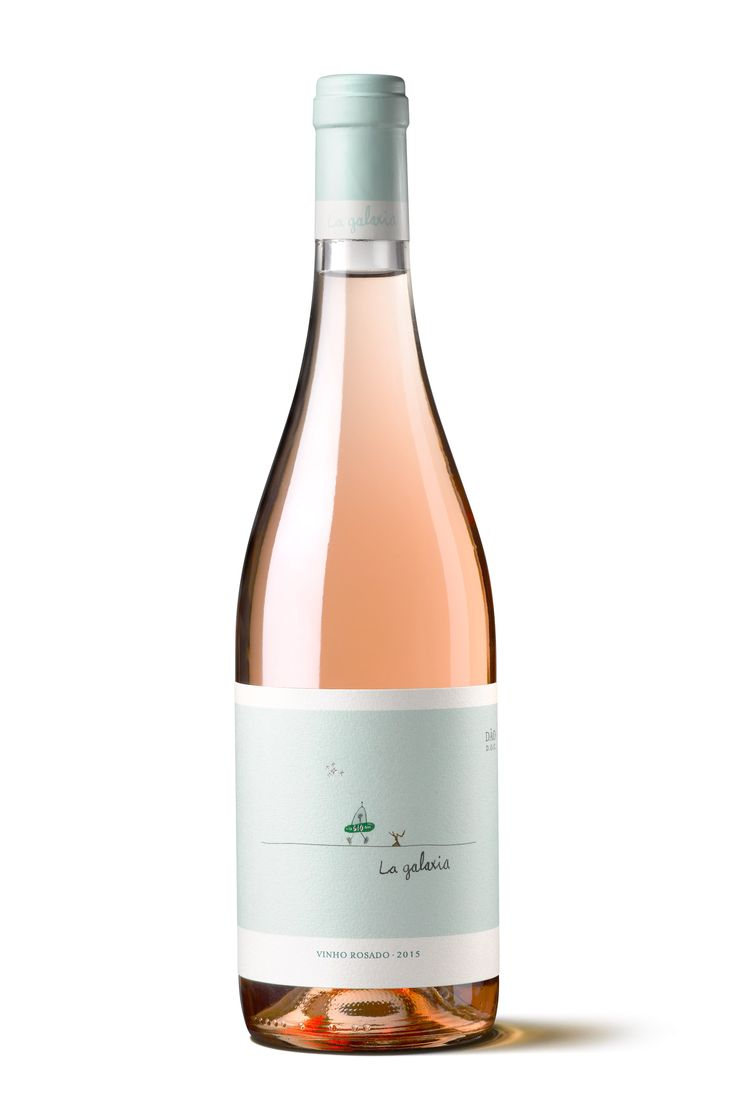 Packaging for La Galaxia, Fento Wines' Rosé