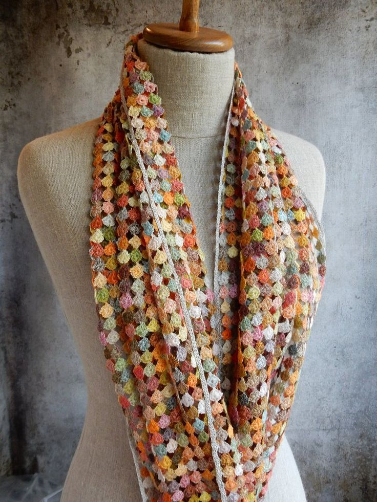 """""""Rikiki"""" large linen scarf -- Sophie Digard @ The French Needle"""