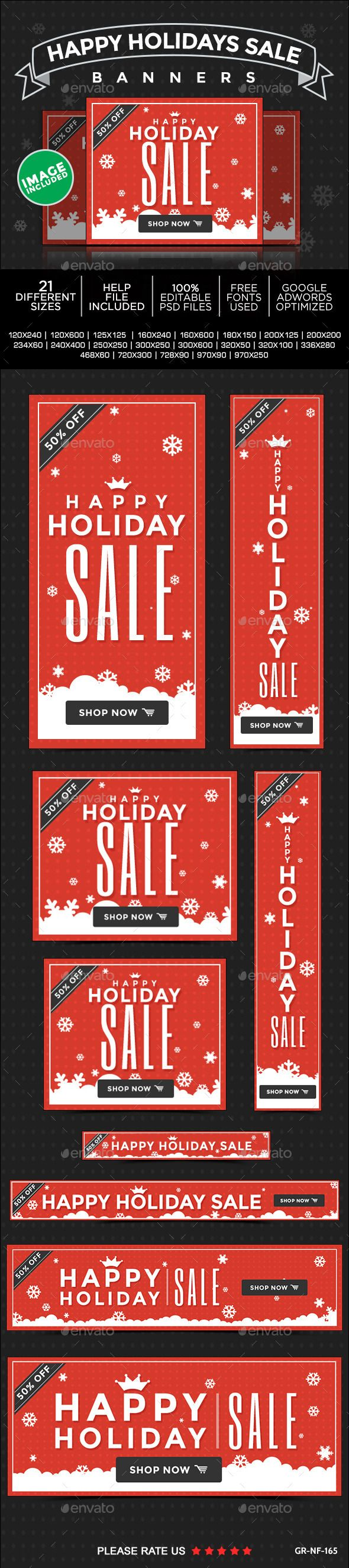 Holiday Sale Banner Set Template PSD | Buy and Download: http://graphicriver.net/item/holiday-sale-banner-set/9719747?WT.oss_phrase=&WT.oss_rank=19&WT.z_author=doto&WT.ac=search_thumb&ref=ksioks