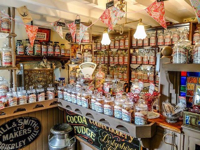 可愛くて何故かなつかしい、イギリスの昔ながらのお菓子屋さん