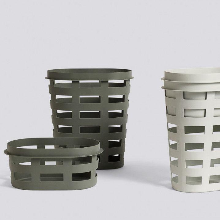 Hay Washing Laundry Basket Light Grey Laundry Basket Basket